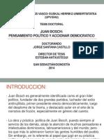 Presentación de La Tesis Maestro Jorge Santana