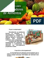 Treinamento Manipulação de Alimentos