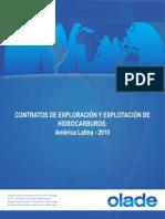CONTRATOS DE EXPLORACIÓN y EXPLOTACIÓN DE HIDROCARBUROS