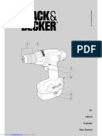 Black and Decker kc12gt Manual