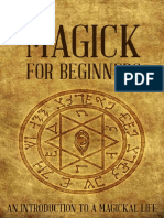 Magick for Beginners_ an Introd - Sharon Fitzgerald