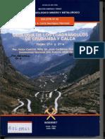 Geología - Cuadrangulo de Urubamba _2827r_29 y Calca _2827s_29_2C1996.Docx