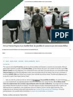 De Los Viseras Negras a Los Juntilla Mala_ Las Pandillas de Menores Que Aterrorizan Bilbao