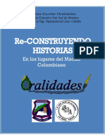 Mavisoy Muchavisoy Willian Jairo Et Al. (2009) Re-construyendo Historias en Los Lugares Del Macizo Colombiano
