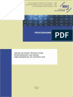 Manual de Processamento Tecnico