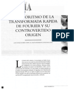 El algoritmo de la FFT y su controvertido 1998.pdf