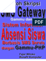 Source Code Skripsi Gammu SMS Gateway - Sistem Informasi Kehadiran Siswa Berbasis SMS dengan Gammu dan PHP MySQL