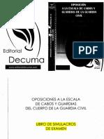 Test Simulacros DECUMA 2015