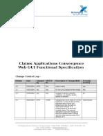 XCS CLASS - Functional Specification - Process Description
