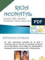 ICTERICA NEONATAKL EXPOSCION