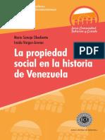 La Propiedad Social en La Historiade VenezuelaSanoja Obediente y Vargas Arenas_BCV