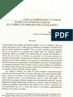 Sentarse, guardar la compostura y llorrar entre los antiguos nahuas (EL CUERPO Y EL PROCESO DE CIVILIZACIÓN).pdf