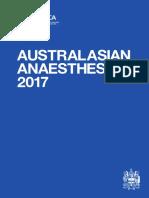 Australasian Anaesthesia 2017