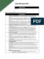 lesson 11 - reading response