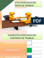 Elementos Esenciales de Un Contrato Laboral