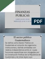 Finanzas Publicas Clase 1