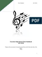 choir handbook