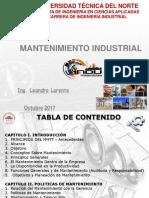 1.- Mantenimiento Industrial
