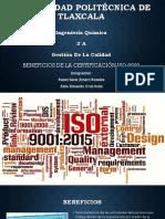 Bneficios de La Certificacion ISO 9001