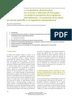 Derecho de Acceso Al Expediente Administrativo Urbanismo