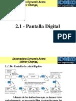 2.1.0 Pantalla Digital