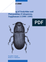 A Catalog of Scolytidae and Platypodidae (Coleoptera), Supplement 2 (1995–1999)