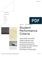 Student Performance Criteria - SCI-Arc
