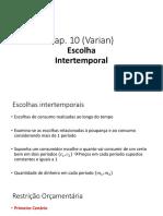 Aula Escolha Intertemporal