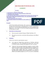 Consumer Welfare Fund Rules