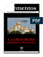 Elementos Nº 45. Rusia