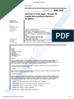 NBR 7549-Alumínio e Suas Ligas - Ensaio de Tração Dos Produtos Dúcteis e Fundidos