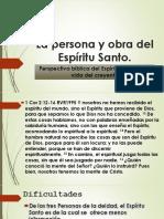 La Persona y Obra Del Espíritu Santo IBE Callao Defenitivo OK