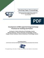 3B2 - Kovacic Filzmoser Vasilescu - Development of BIM-supported Integrated Design Processes