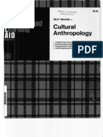 Irwin Programmed Learning Aid Cultural Anthropology