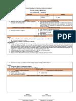 Planificacion FCE