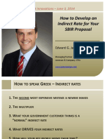 How to Develop an Indirect Rate for Your SBIR Proposal