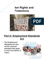 worker rights and protections yukon