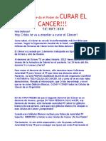 Hoy Cristo te da el Poder de CURAR EL CANCER!!! ^_^ 14.docx