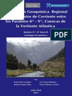Prospección Geoquímica Regional de Sedimentos de Corriente entre los Paralelos 8º - 9º%2C Cuencas de la Vertiente Atlántica%2C 2011.pdf