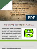 2.6. División Politica Internacional