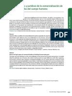 Aspectos Eticos y Juridicos de La Comercializacion de Partes Separadas Del Cuerpo Humano - BERGEL, Salvador