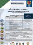 Programa del 6º Aniversario Ing Industrial UNASAM