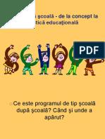 Ppt Scoala Dupa Scoala - 2003