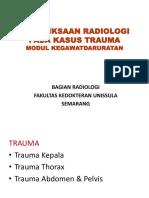 (New) Pemeriksaan Radiologi Pada Kegawat Daruratan