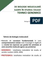 LP 9 Tehnici Genomice RO-1