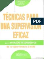 Metodos y Técnicas de Supervisión