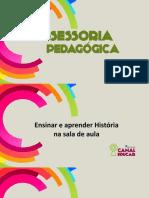 Ensinar e Aprender História Em Sala de Aula
