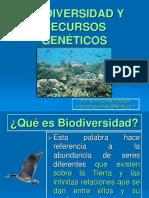 TEMA 14. RECURSOS GENETICOS Y BIODIVERSIDAD 2016.ppt