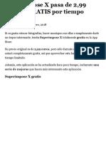 Superimpose X Pasa de 2,99 Euros a GRATIS Por Tiempo Limitado