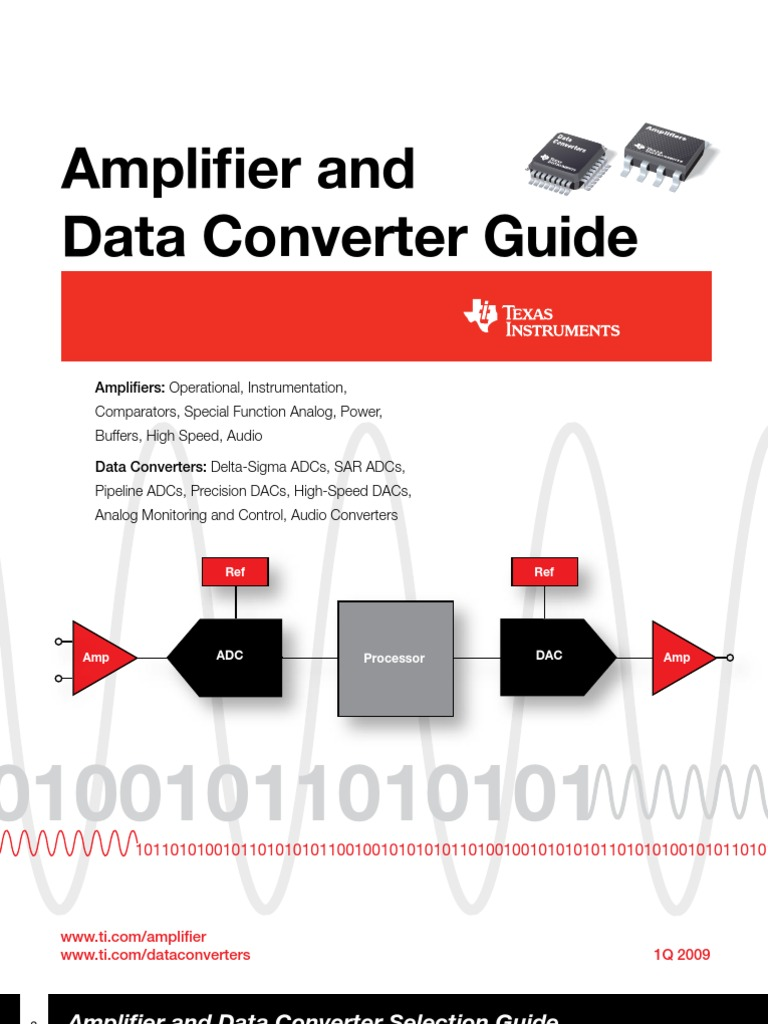 Amplifier And Data Converter Texas Analog To Digital Analogue Radio Control By Sm0vpo